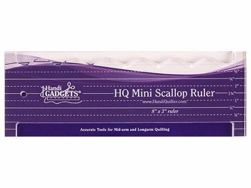 Handi Quilter Mini Scallop Ruler