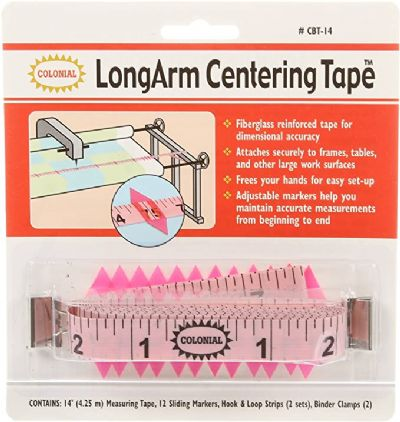 14' LongArm Centering Tape