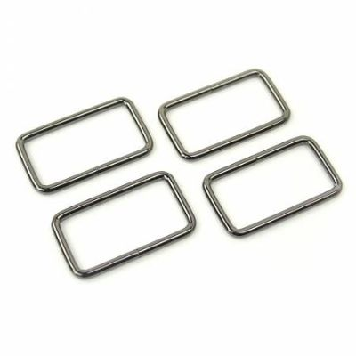 Rectangle Rings - Gunmetal