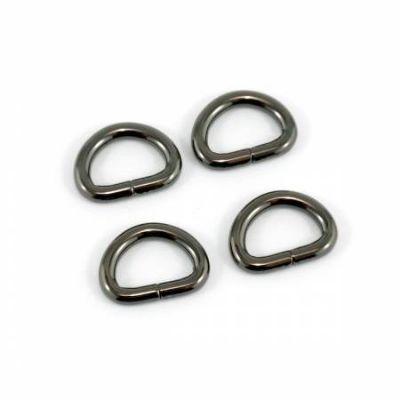 """D-rings for 1/2"""" Straps - Gunmetal"""