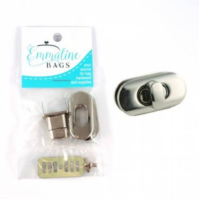Small Turn Lock - Nickel