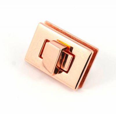 Rectangle Turn Lock - Copper