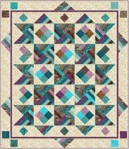 Sante Fe Jewel Quilt Kit