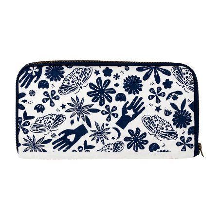 Sewing Wallet - Indigo