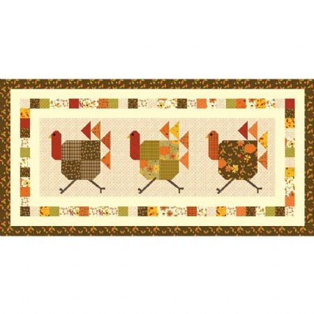 Turkey Trot Table Runner