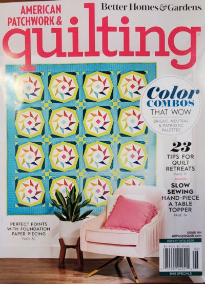 June 2020 American Patchwork & Quilting