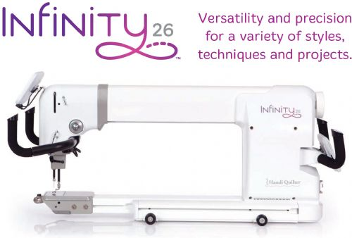 HQ Infinity 26 with Pro-Stitcher? Package
