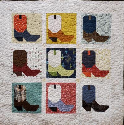 Boot Quilt Kit