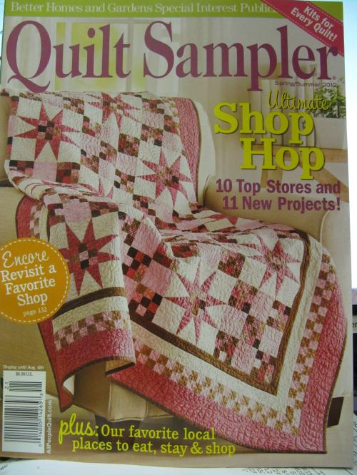 Better Homes and Gardens Quilt Sampler Magazine May 2012
