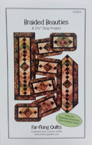 Braided Beauties by Far-Flung Quilts