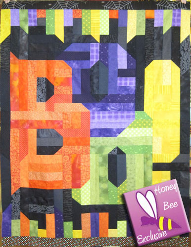 Jelly Boo Quilt Kit - A Honey Bee Exclusive