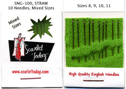Scarlet Today (Green) Straw 8, 9, 10, 11