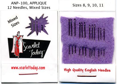 Scarlet Today (Purple) Applique 8 9 10 11