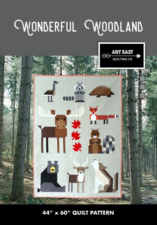 Wonderful Woodland Quilt Pattern