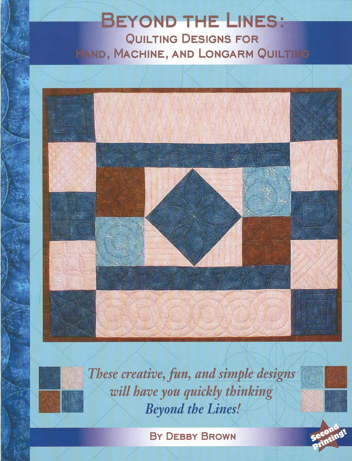 Beyond the Lines Book: Quilting Designs for Hand, Machine & Longarm Quilting