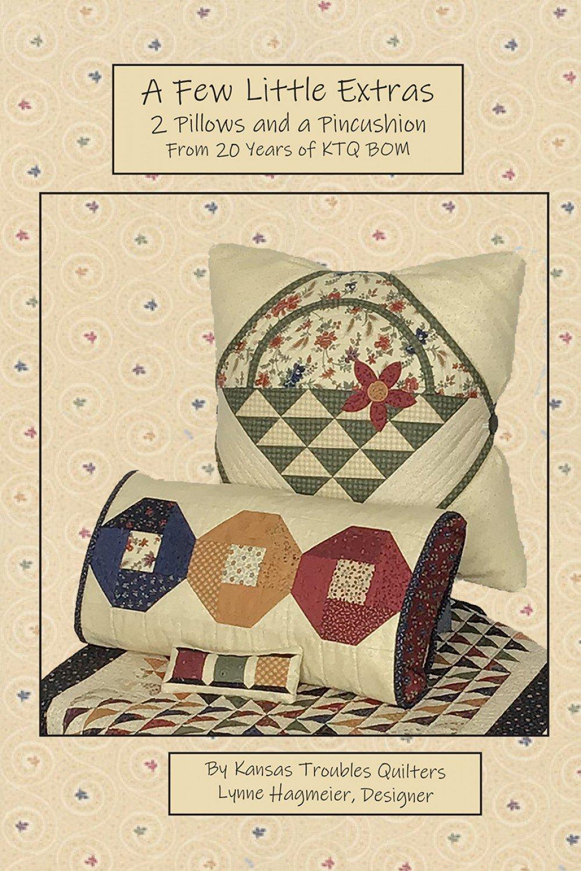 A Few Little Extras - 2 Pillows and a Pincushion