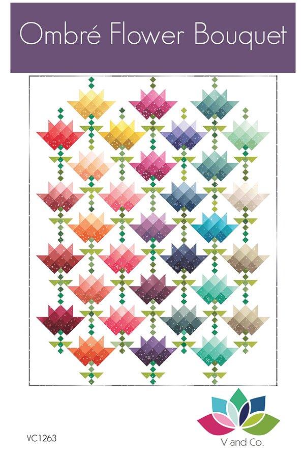 Ombre Flower Bouquet