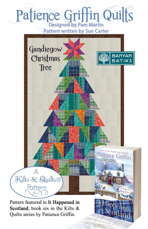 Gandiegow Christmas Tree Quilt Pattern