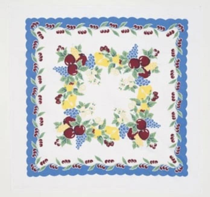 Moda Vintage Cherries Tablecloth