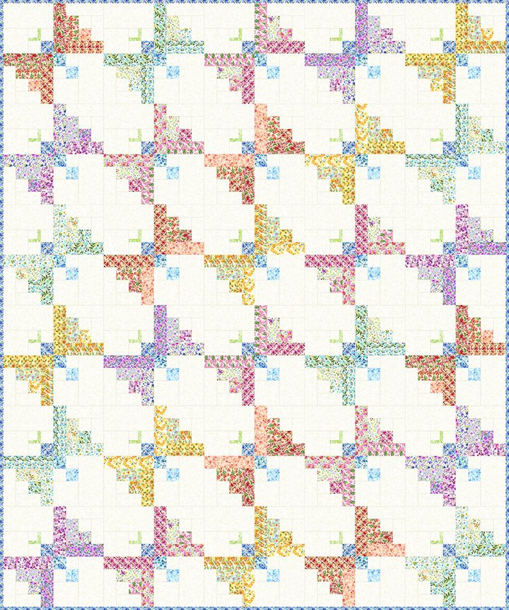 Watercolor Beauty Butterfly Quilt Kit