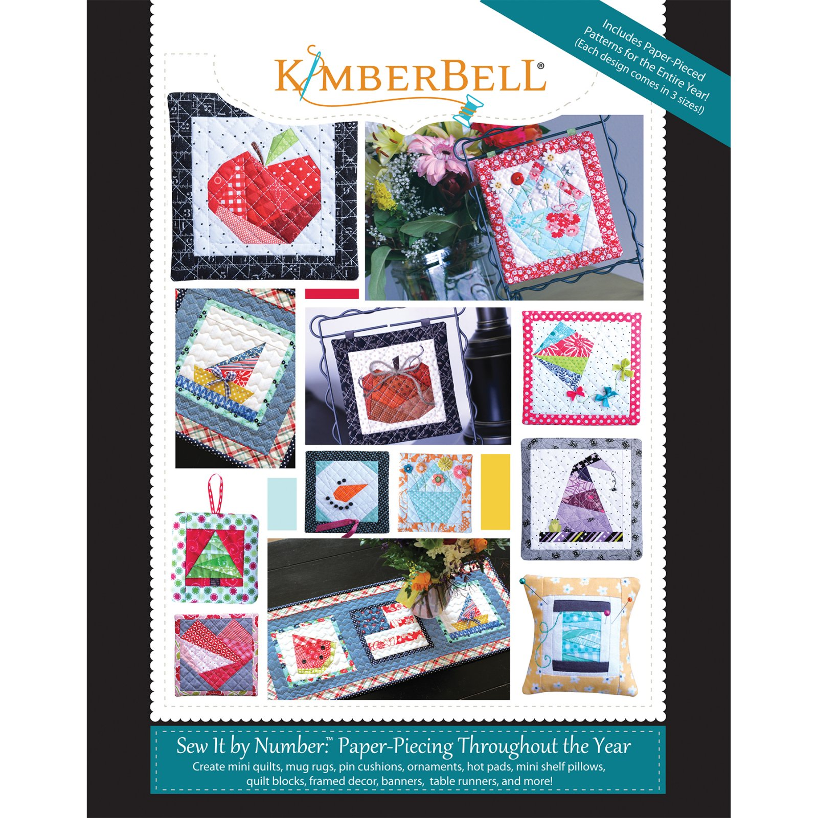 Sew It by Number: Paper-Piecing Throughout the Year