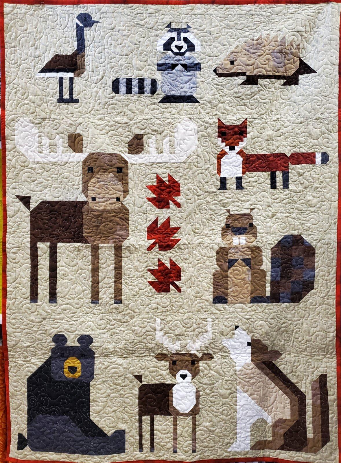 Wonderful Woodland Quilt Kit