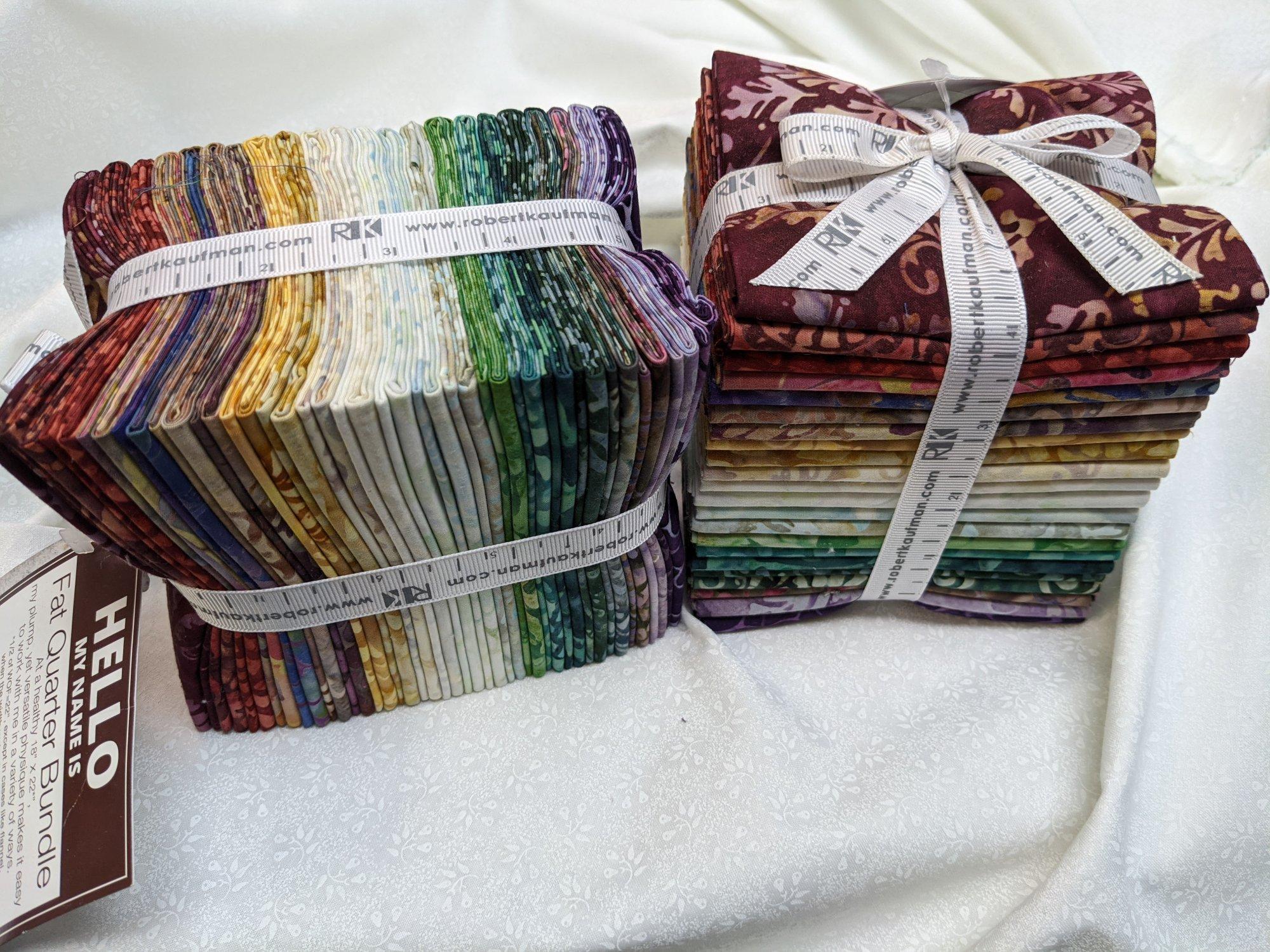Bella Vita 22ct Batik Fat Quarter Pack
