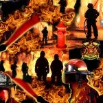 580- Fire Fighters Under Fire