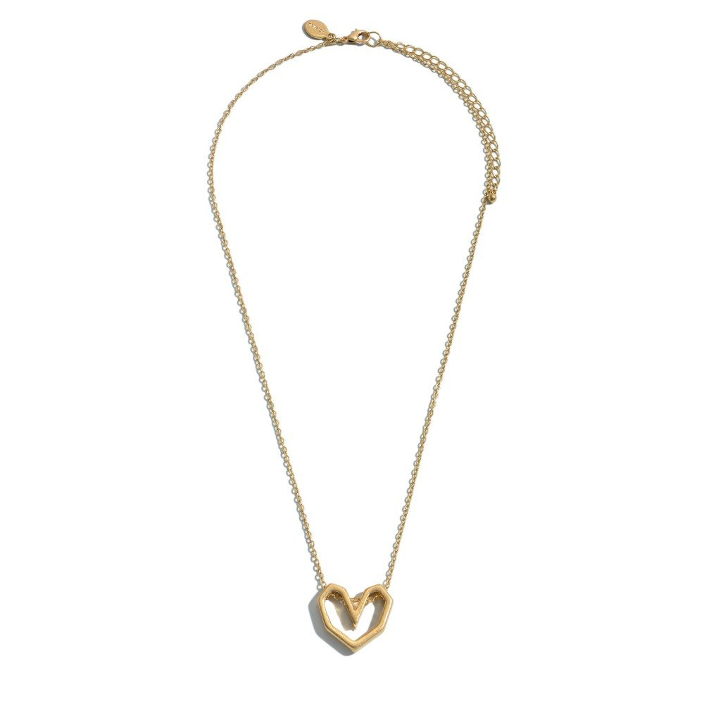 Silver/Gold heart Necklace