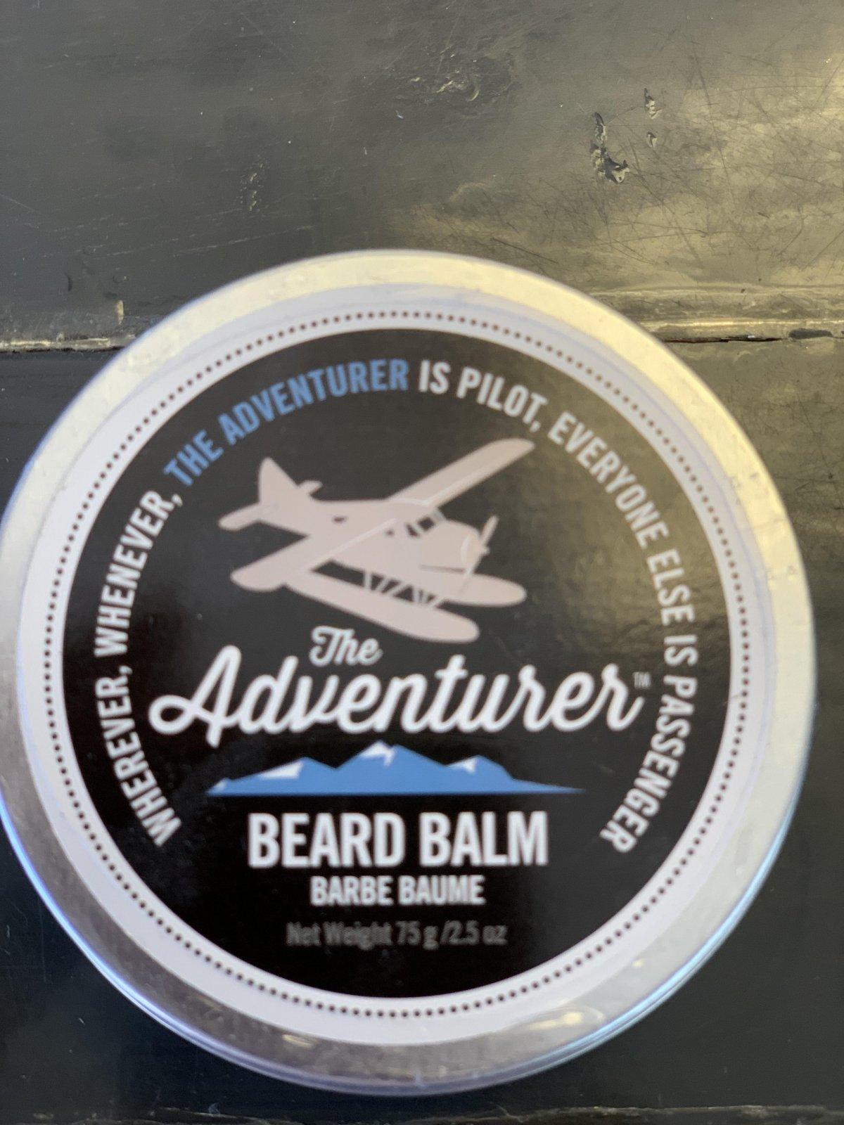 The Adventurer Beard Balm