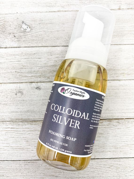 Colloidal Silver Foaming Soap