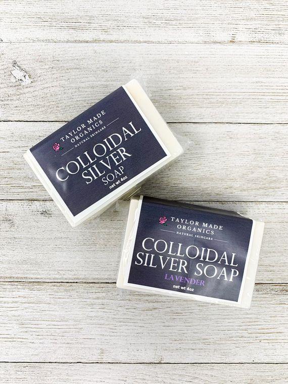 Colloidal Silver Soap - lavender