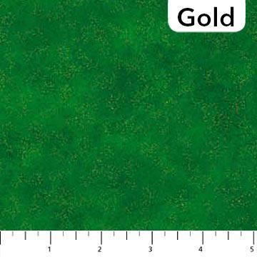 Northcott Shimmer Radiance  Evergreen 905077