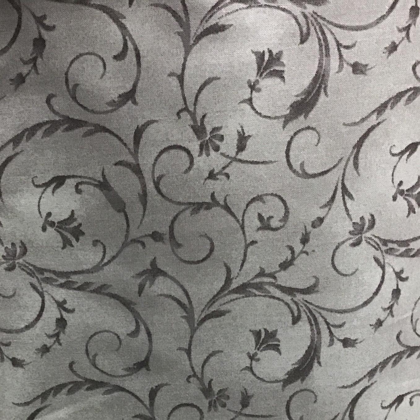 Beautiful Backing 108 Grey Swirl