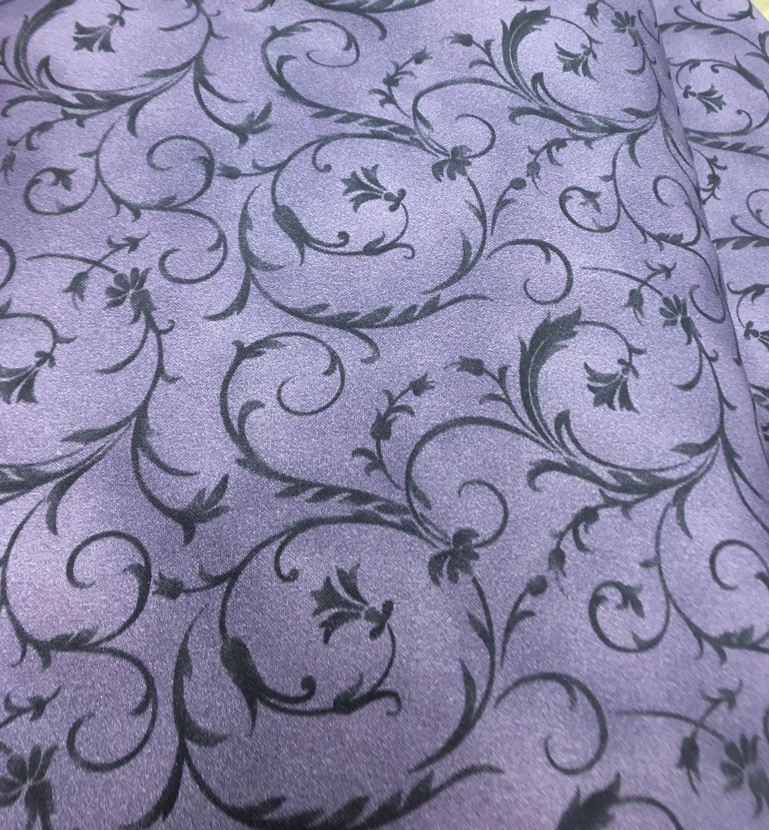Beautiful Backings Purple Swirl