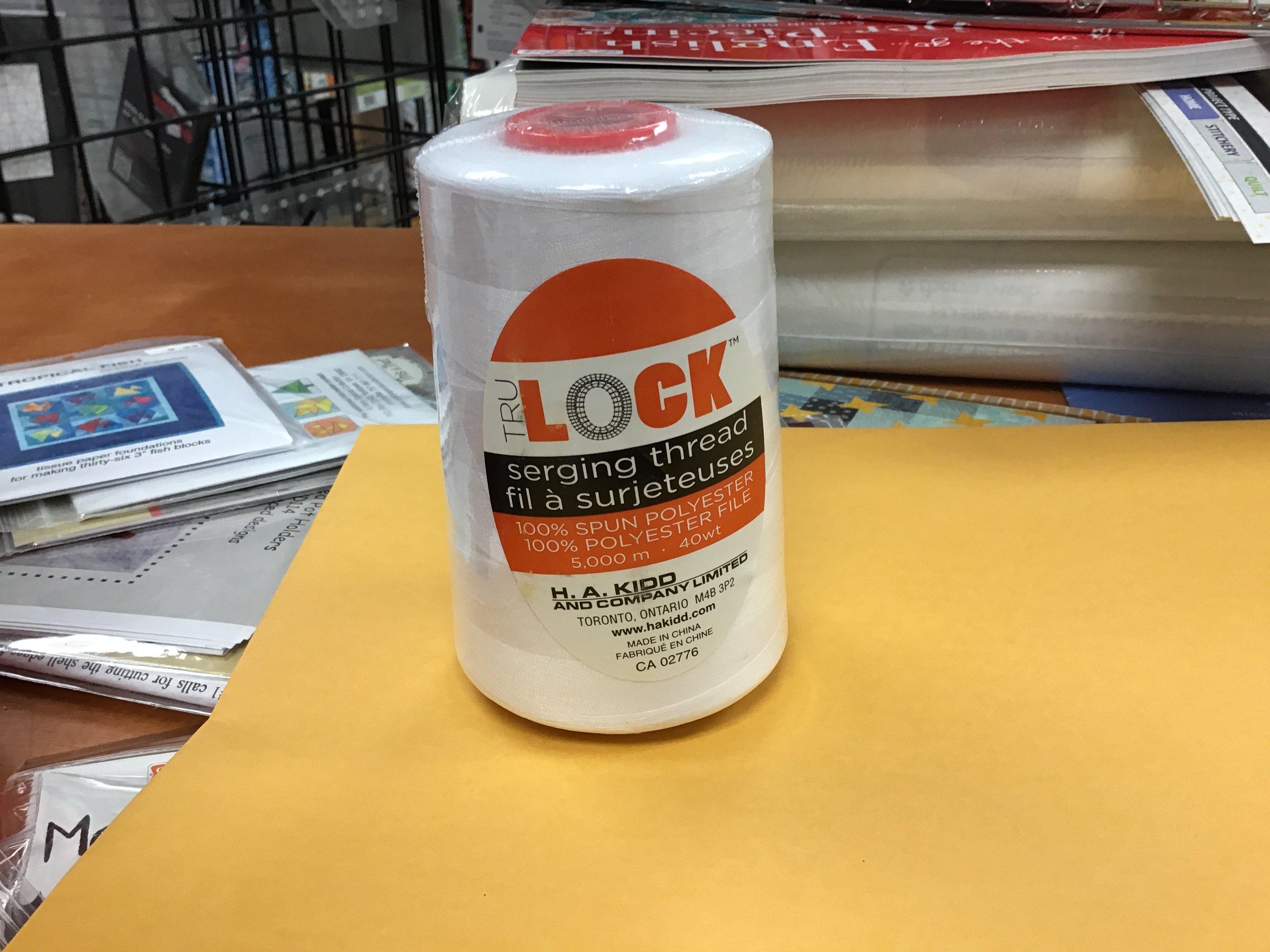 TRU Lock serging Thread