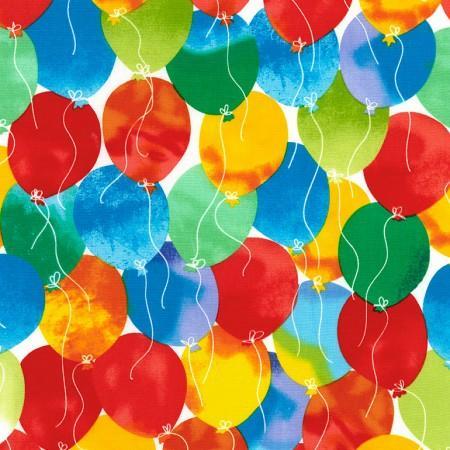 Birthday Balloons -Timeless Treasures