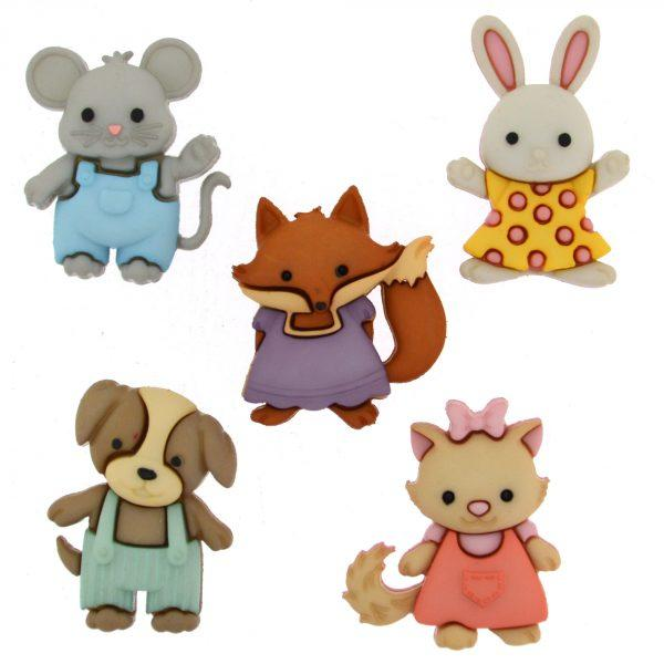 Dress It Up - Forever Friends Buttons