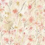 Timeless Treasure - Cream Floral