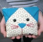 Cut Loose Pattern Cat's Meow Coin Purse Pattern