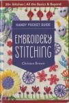 Embroidery Stitching  Pocket Guide