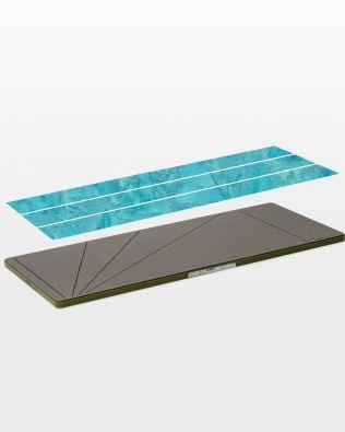 Accuquilt Fabric Cutting Die STRIP CUTTER 3 #55084