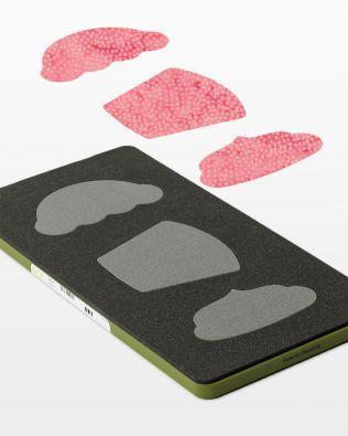Accuquilt Fabric Cutting Die CUPCAKES #55097