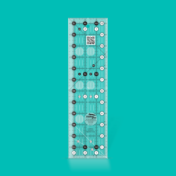 Creative Grids Ruler 3.5 BY 12.5 ruler CGR312