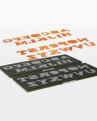 Accuquilt GO! Carefree Alphabet Set Upper Case Letters (2-Die Set) #55092