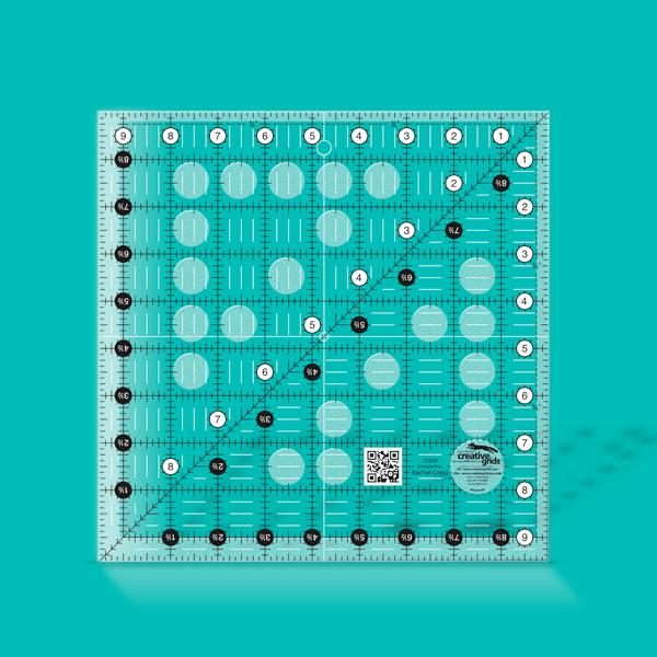 Creative Grids Ruler 9.5 Square CGR9