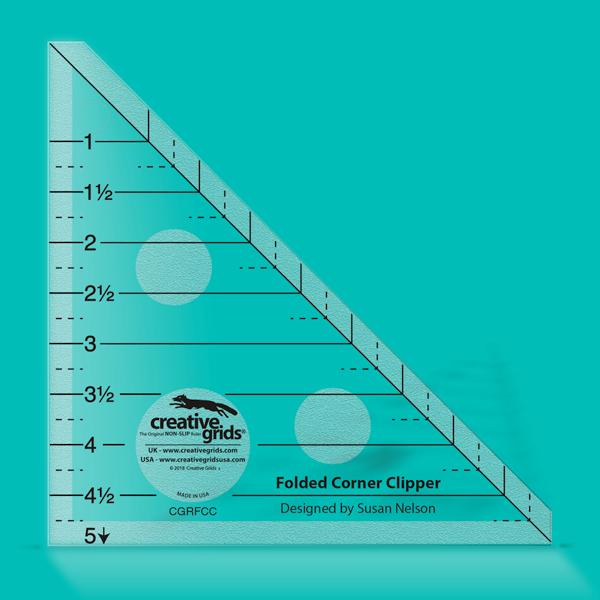 Creative Grids Ruler Folded Corner Clipper CGRFCC