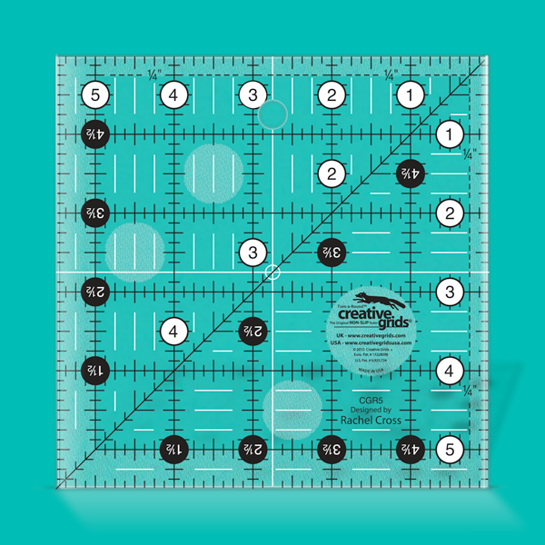 Creative Grids Ruler 5.5 inch Square #CGR5