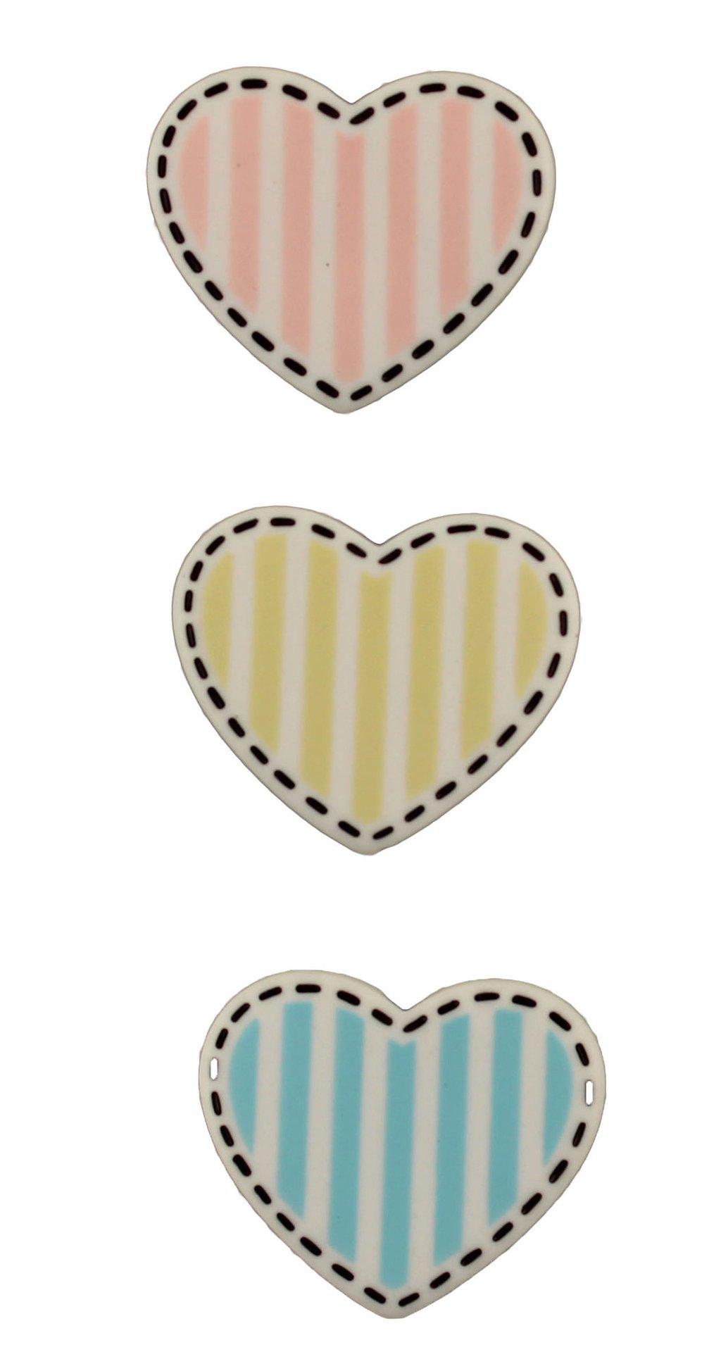 Buttons Galore  Heart Shape - Buttons