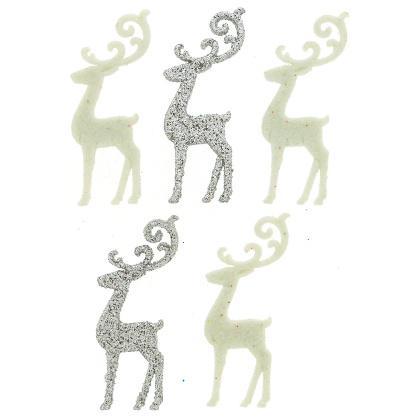 Dress It Up - Elegant Reindeer Buttons